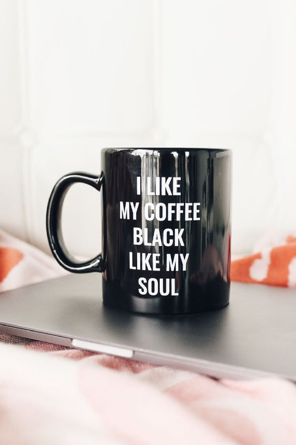 Black Soul Mug | State of Grace
