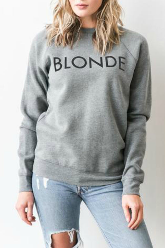 BLONDE Crew | Brunette The Label