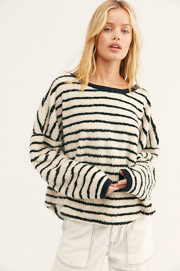 Breton Striped Pullover | Free People