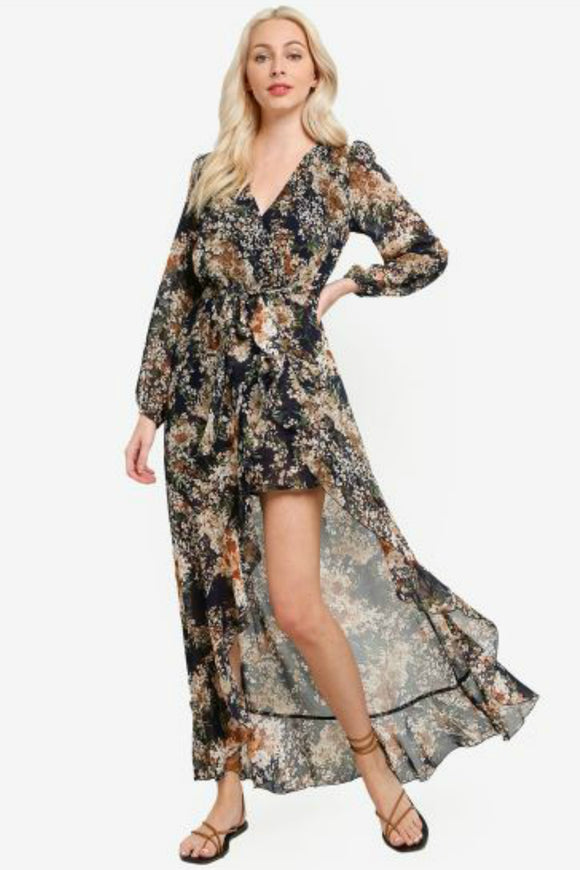 Brigitte Floral Maxi Dress | Minkpink