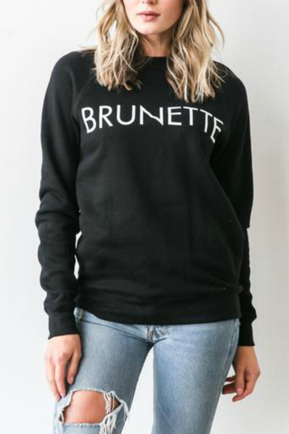 Brunette Crew Sweater