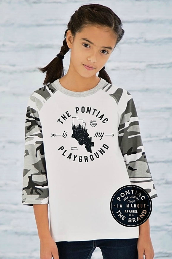 Youth Baseball Camo Tee | Pontiac The Brand