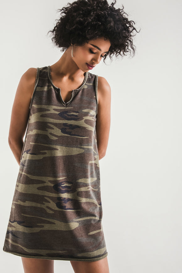 The Camo Tank Dress | Z Supply