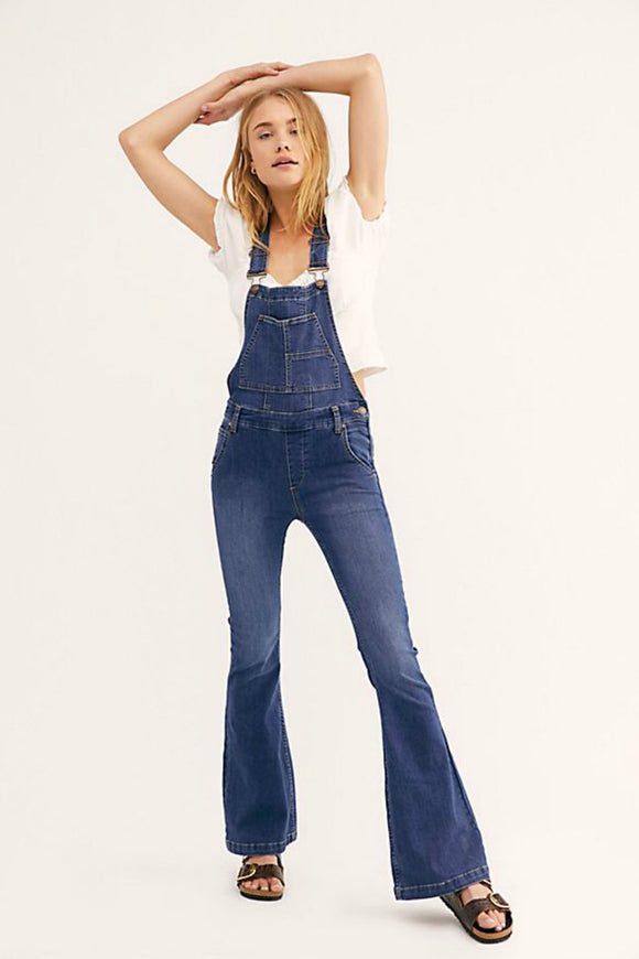 Carly Flare Overalls | Free People