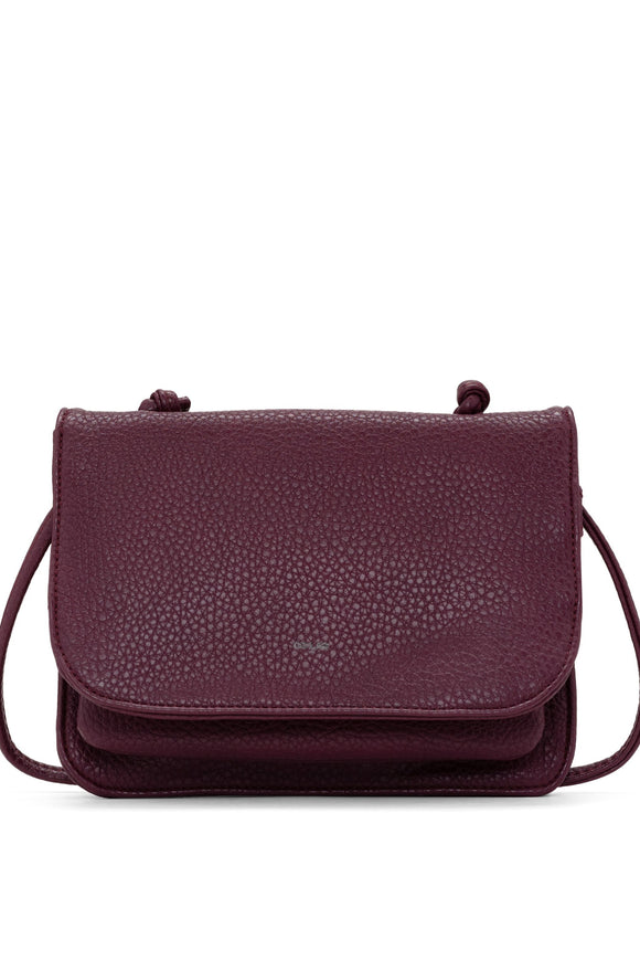 Carryall Crossbody - Wine | Colab