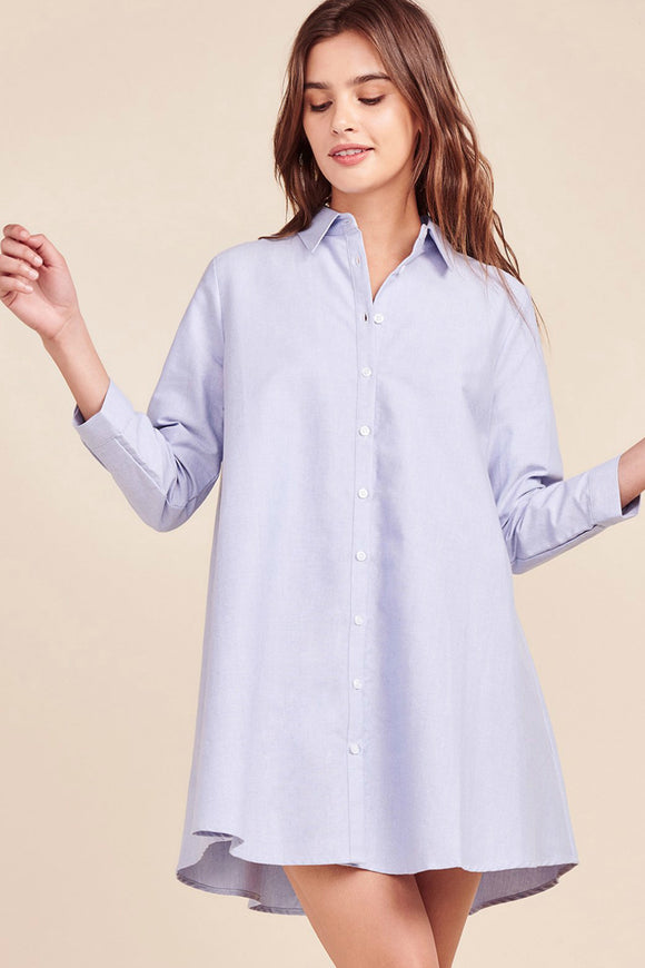 Cleans Up Well Shirt Dress | BB Dakota