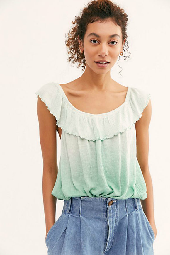 Cora Lee Tee - Sea Foam | Free People