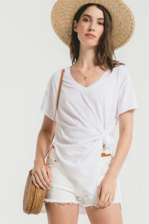 Organic Cotton Side Slit Tunic - White | Z Supply