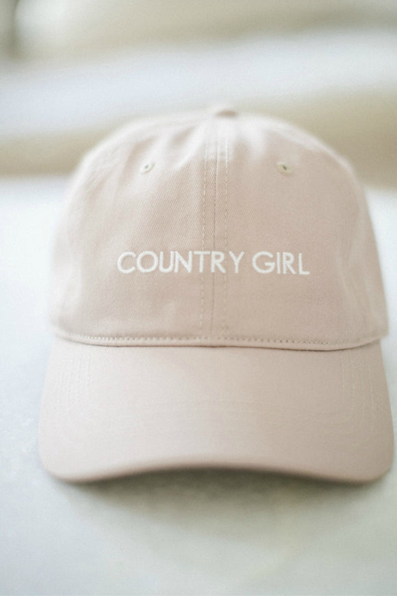 Brunette the label country girl cap. Jolie folie boutique