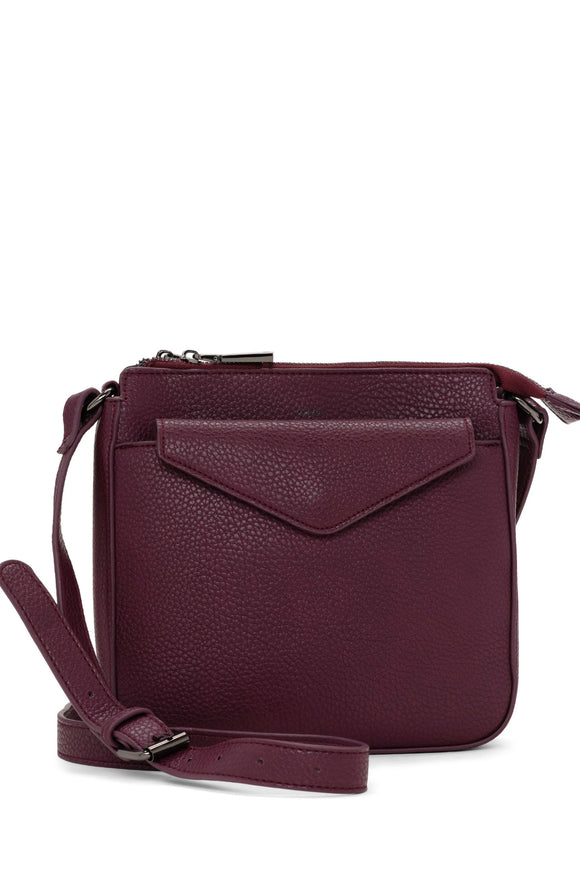 Pebble Crossbody With Pouch - Wine | Colab