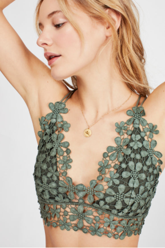 Miss Dazie Bralette - Moss | Free People