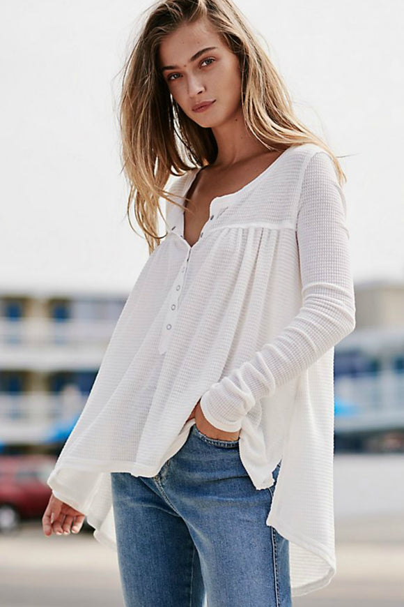 Down Under Henley Top | Free People