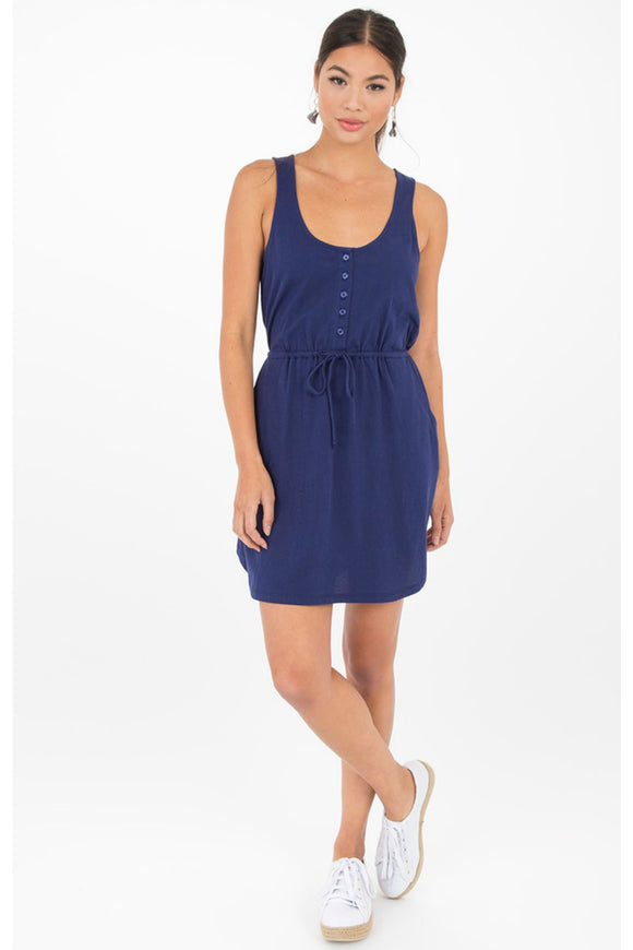 Dynamic Self-Tie Tank Dress | Others Follow