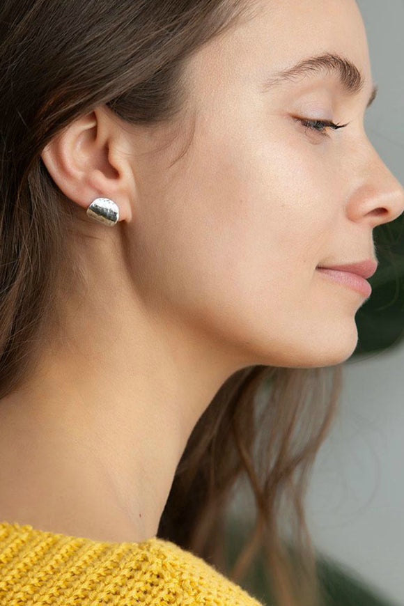 Hammered Ear Cuff Earrings | Strut