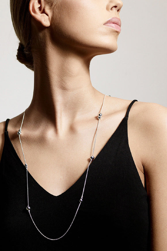 Earth Necklace - Silver | Pilgrim