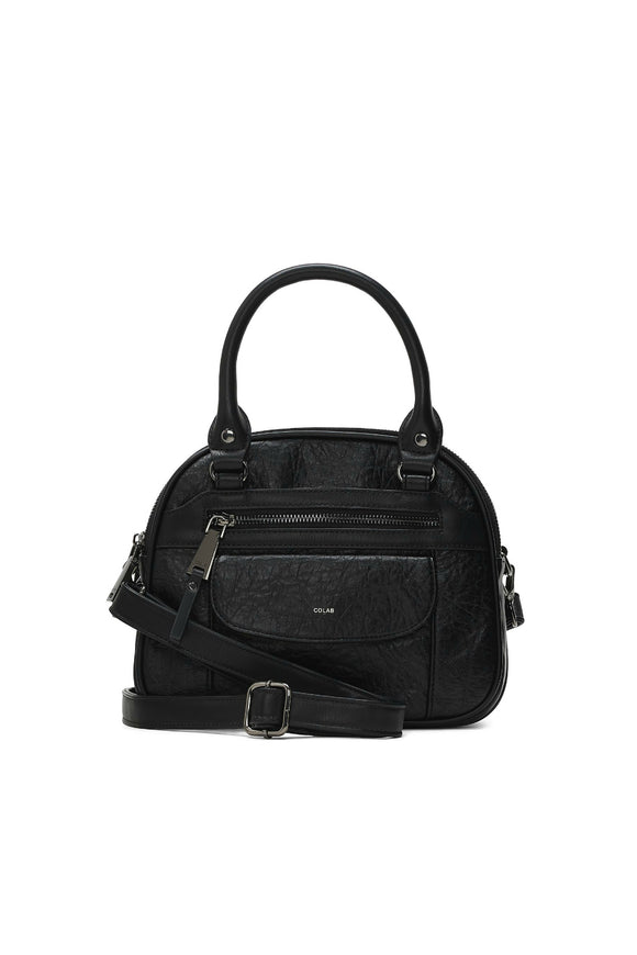 Colab edgy bowler crossbody. Jolie folie boutique