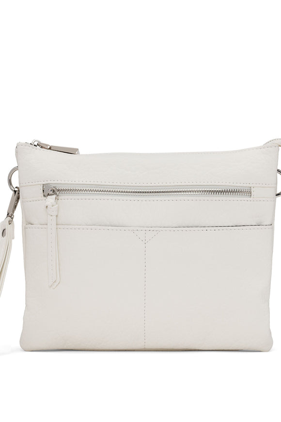 Fawn Clutch Crossbody - White | Colab