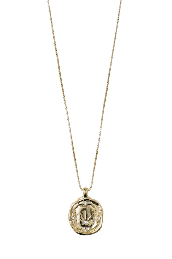 Feeling of L.A. Coin Necklace - Gold | Pilgrim