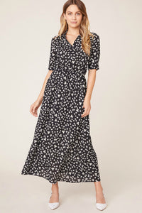 BB Dakota floral education midi dress. Jolie folie boutique
