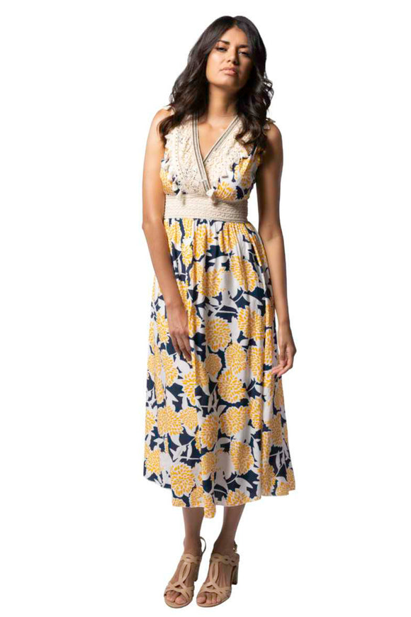 Floral Maxi Dress | M Italy