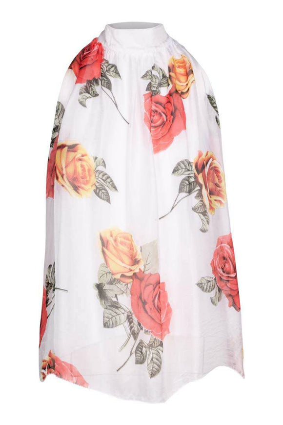 Floral Sleeveless Blouse | M Italy
