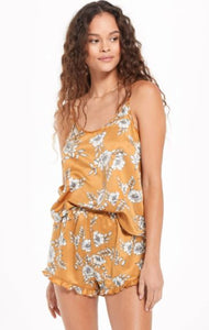 floral satin cami from zsupply