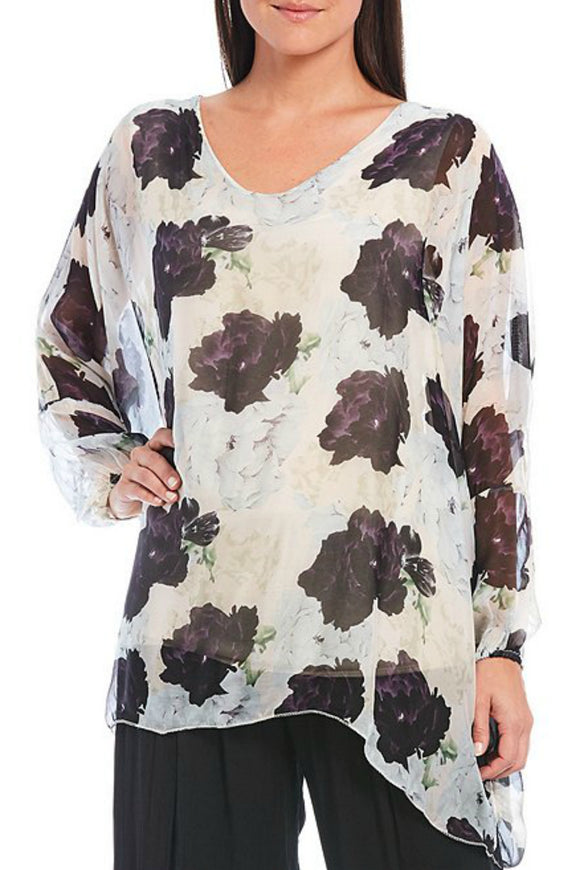 Flowy Floral Top | M Italy