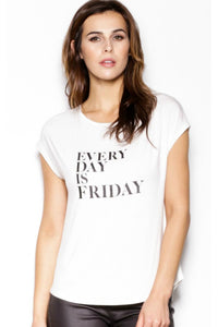 Everyday Is Friday Tee | Pink Martini