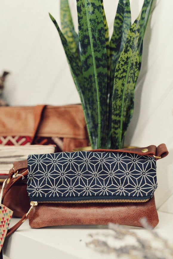 Small Boho Purse - Geometric Print | Grace Design