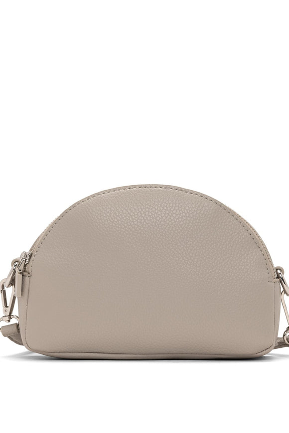Half-moon crossbody clutch - Mouse | Colab