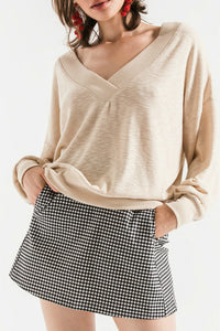 Hannah V-Neck Sweater | Others follow