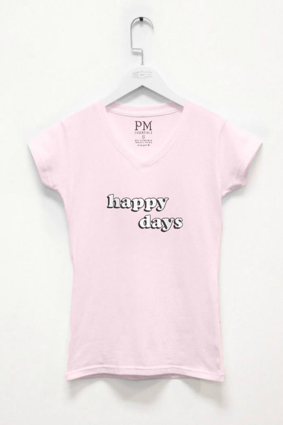 Happy Days Pink Tee | Pink Martini