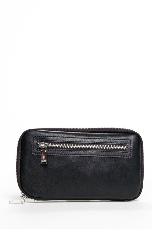 Harlow World Wallet - Black | Colab