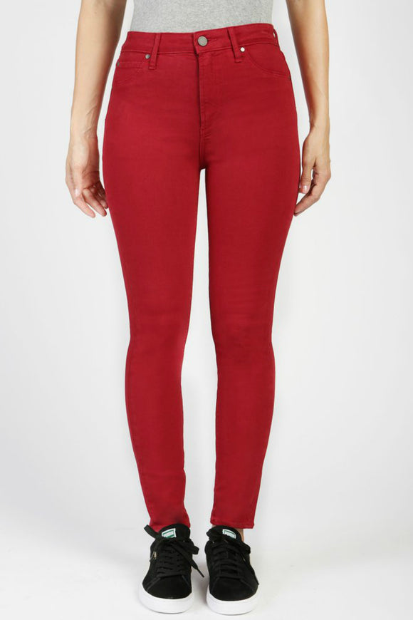 Womens red skinny jeans from articles of society
