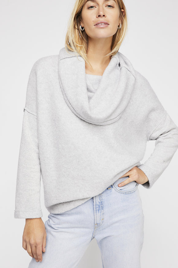 Huntington Pullover - Grey | Free People