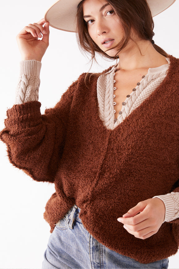 Icing V-Neck Pullover | Free People