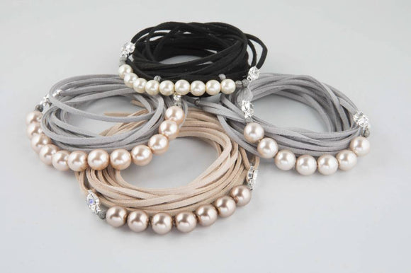 HEAVENLY PEARLS - Necklace, Bracelet and Belt - Women's Accessories - Jolie Folie