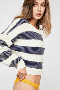 Just My Stripe Pullover | Free People