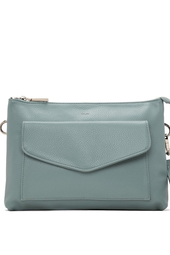 Kris Crossbody & Double Clutch - Pool | Colab
