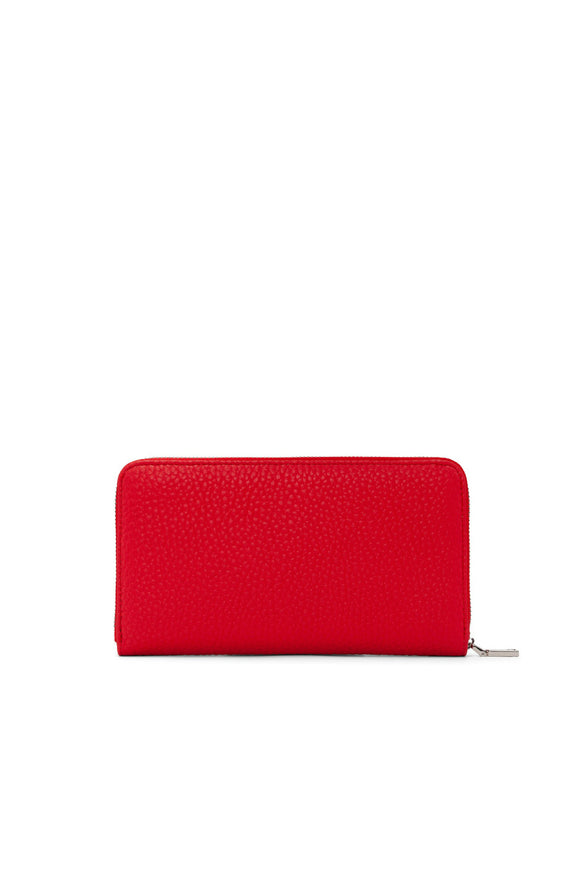 Pebble Large Wallet - Candy Apple | Colab