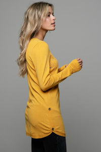 lea yellow tunic from schwiing