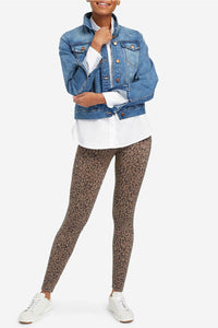 Look At Me Now Seamless Leggings - Mini Leopard | Spanx