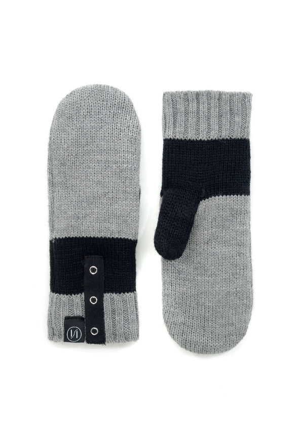 Letty Grey Mitts | Schwiing