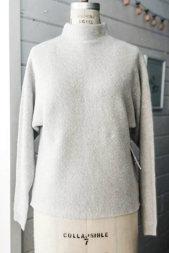 Light Grey Knit Sweater