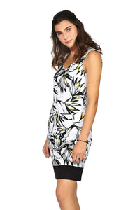 Schwiing floral sleeveless dress. jolie folie boutique