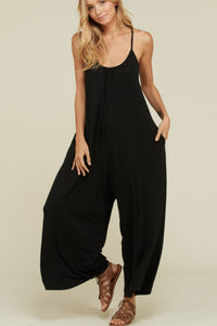 Live In Me Black Romper