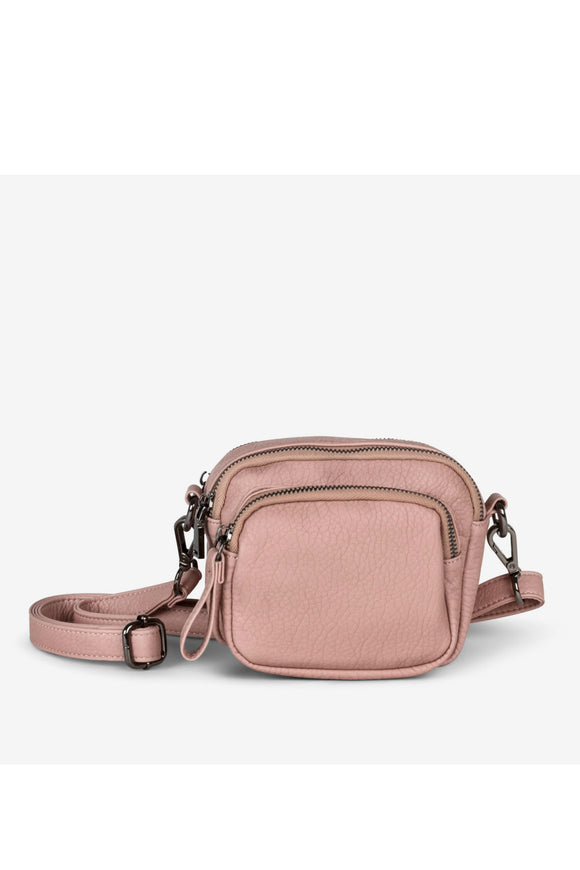 Loft Triple Zip Crossbody - Cotton Candy | Colab