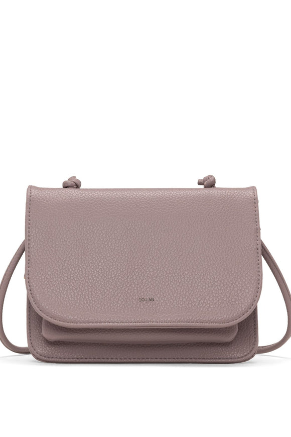 Lola Crossbody Carryall - Dusty Mauve | Colab