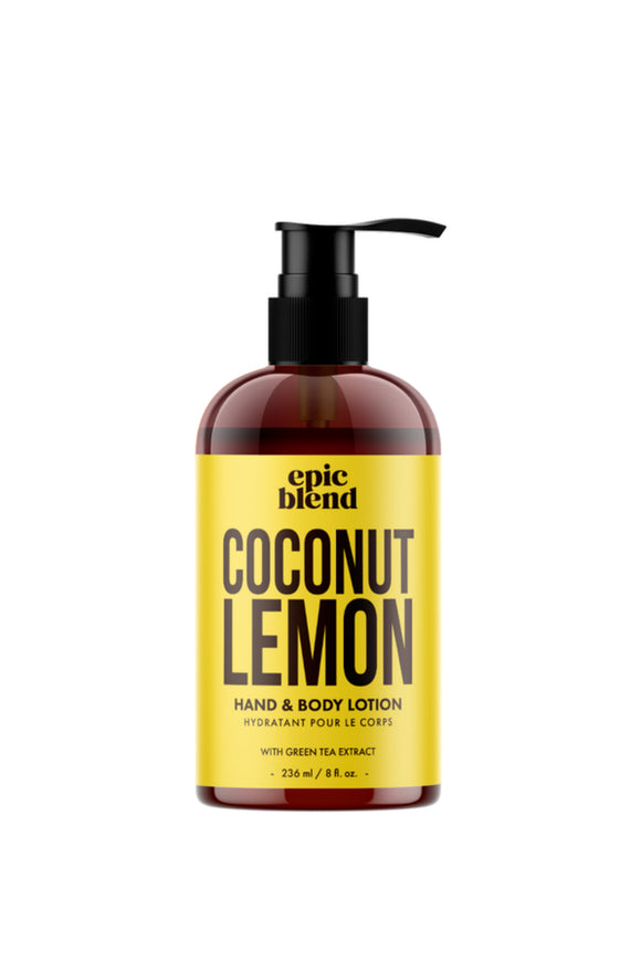Coconut Lemon Hand & Body Lotion