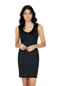 Sleeveless Dress MAKEBA Black | Schwiing